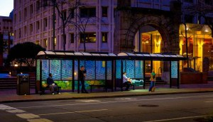 Solar Bus Shelter Lighting