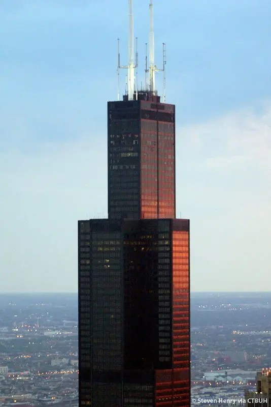 The History and Architecture of the Willis Tower in Chicago  Urban Splatter