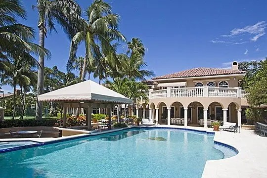 Shaquille ONeals Massive Florida House  Urban Splatter