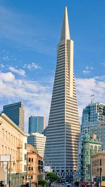 The History and Architecture of the Transamerica Pyramid  Urban Splatter