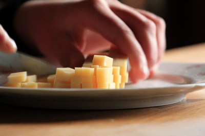 cubed-cheese