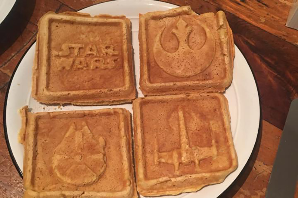 These are not the waffles you are looking for