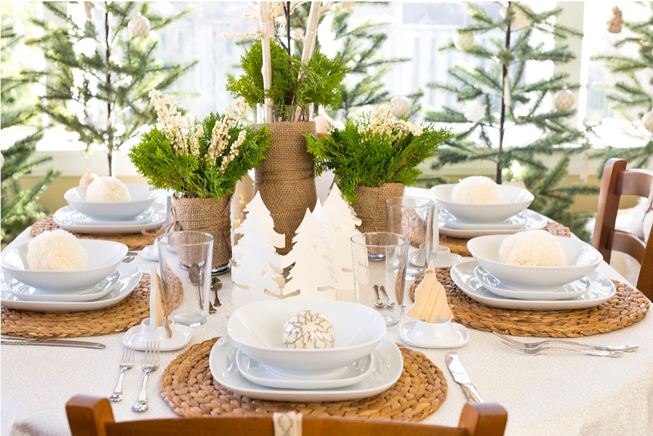 Quick & Cheerful Holiday Centerpieces
