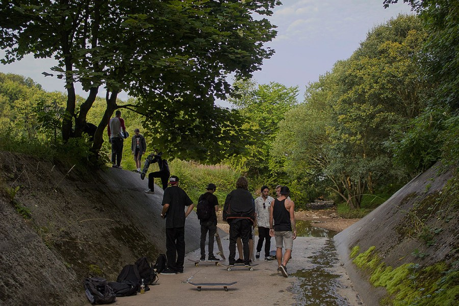 Death Skateboards visit Horden
