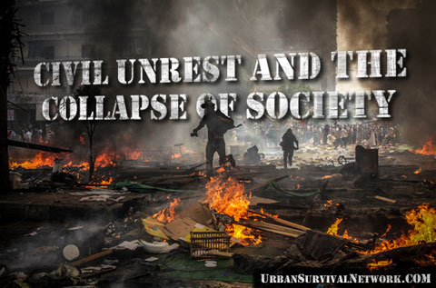 Civil Unrest and The Collapse of America