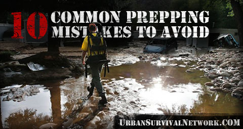 Common Prepper Mistakes
