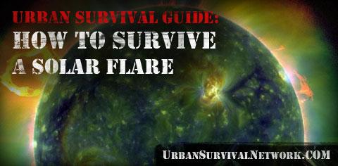 Solar Flare Destroying the Power Grid