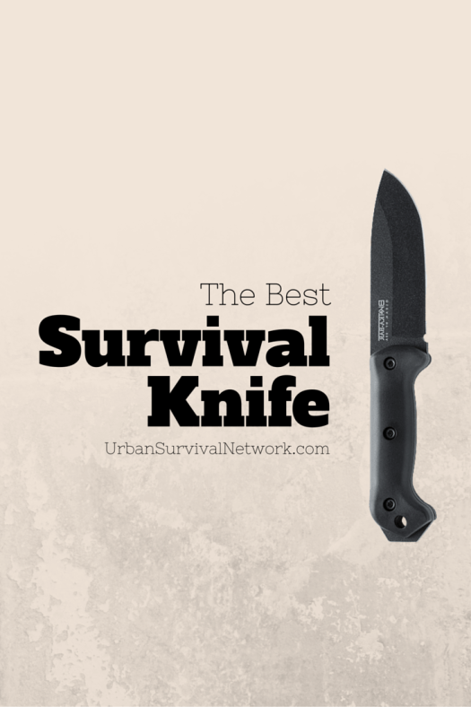 Survival Knife Diagram