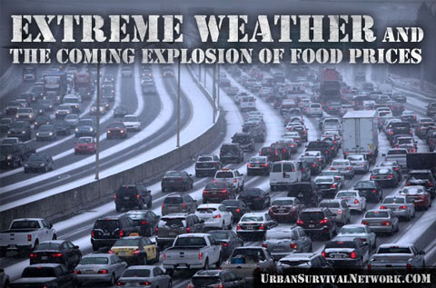 SHTF Extreme Weather Rising Food Prices