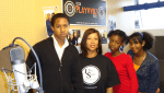 Urban Synergy mentees visited Playvybz the internet radio station to get the inside information on the entertainment business and the ins and outs of putting a radio programme together