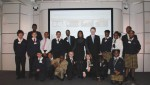 Leila Thomas supports young people by mentoring pupils from St Matthews Academy in the Mobile Apps For Good programme