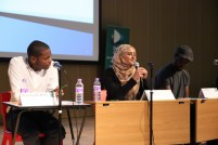 Maryam Hussain at Urban Synergy Academic Seminar, Deptford Green