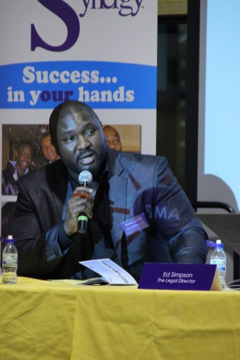 Nonso Anozie at Urban Synergy Role Model Seminar, St Matthew Academy