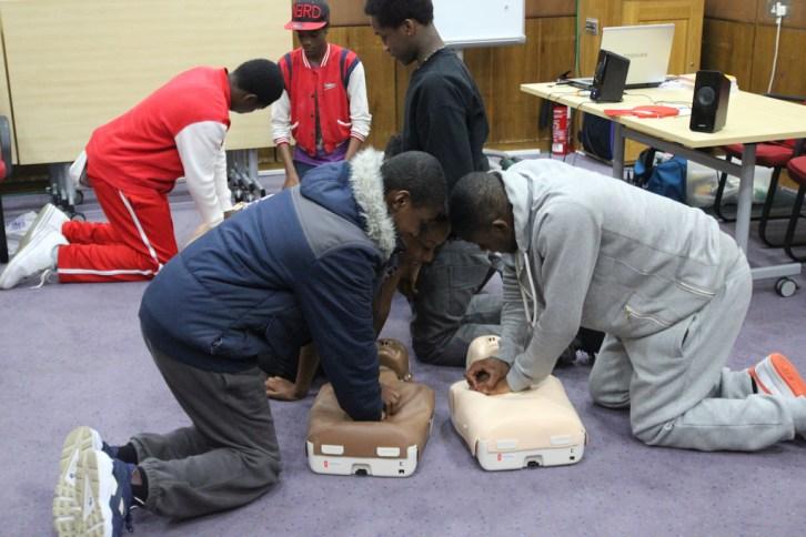 First Aid Training 2015 03