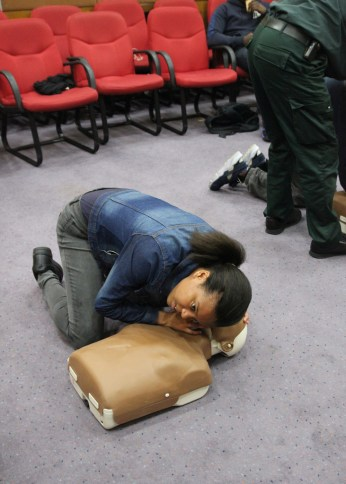 First Aid Training 2015 04