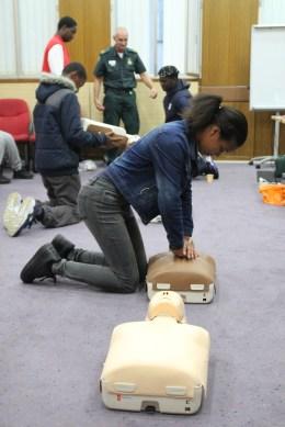 First Aid Training 2015 05