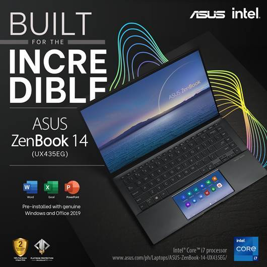 Asus Officially Launches Zenbook 14 with ScreenPad in The Philippines
