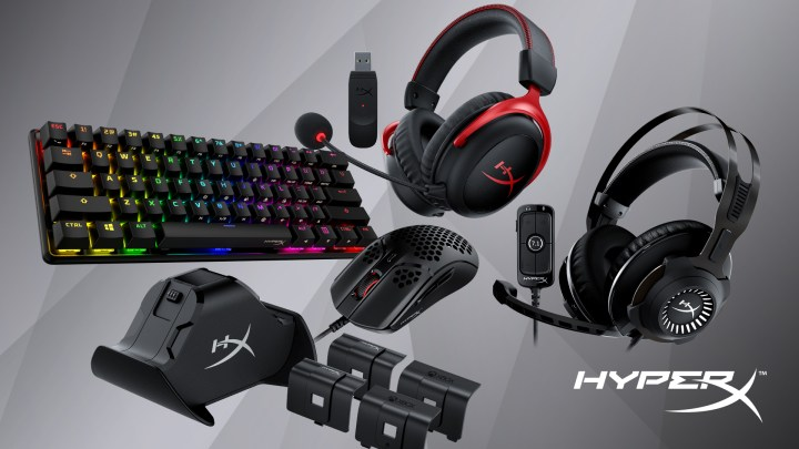 HyperX Reveals New Gaming Gears at CES 2021