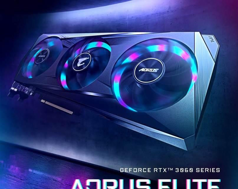 Aorus GeForce RTX 3060 Elite 12G Launched