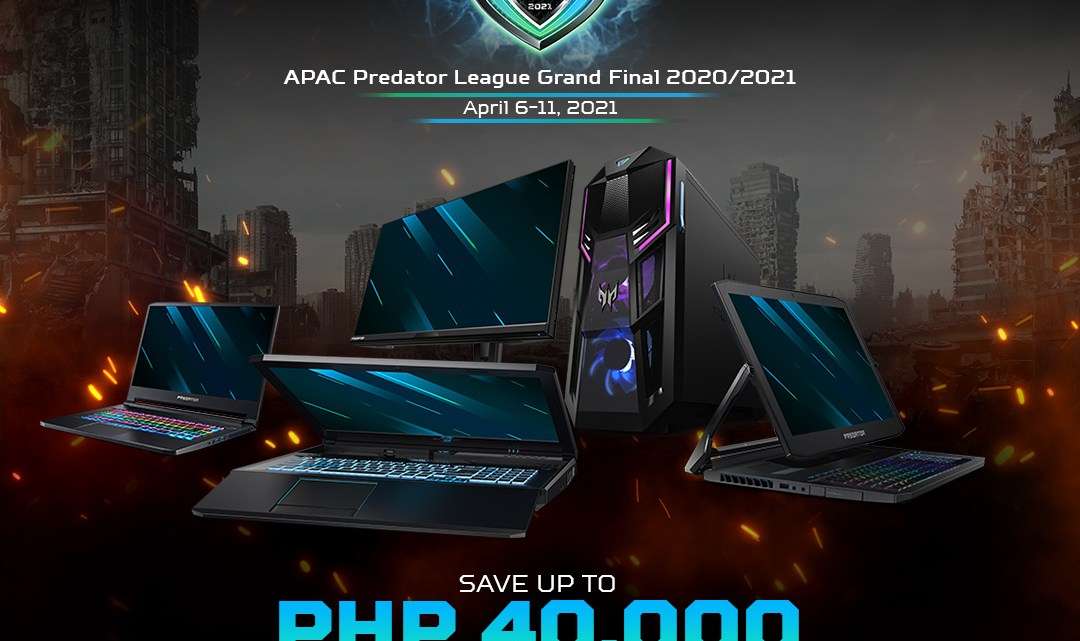 Predator Offers Up To Php40,000 Discount Until April 18