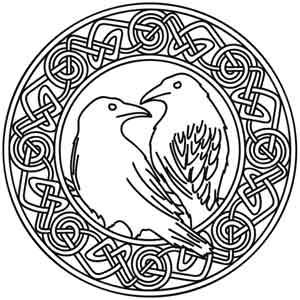 Hugin And Munin Art