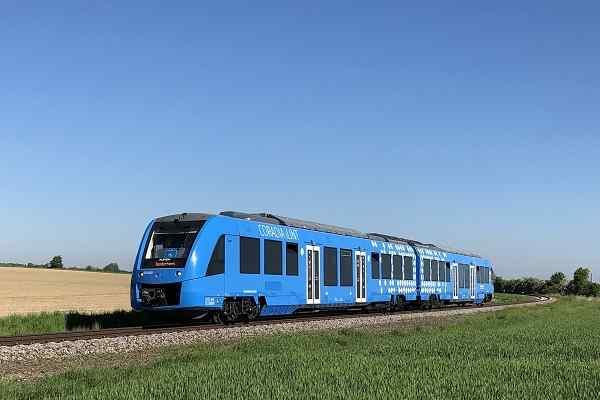 Alstom launches first hydrogen train in Sweden