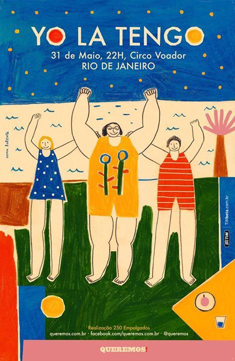 YoLaTengo_CircoVoador_Queremos_Rio_poster_2014
