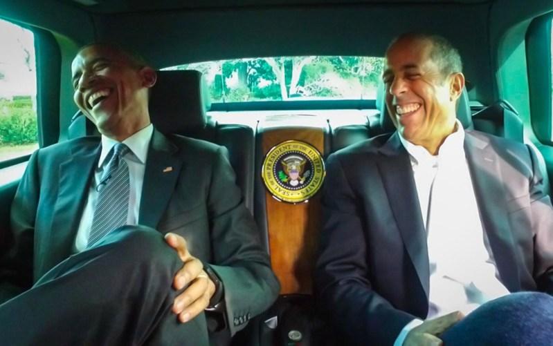 Barack Obama Jerry Seinfield URBe