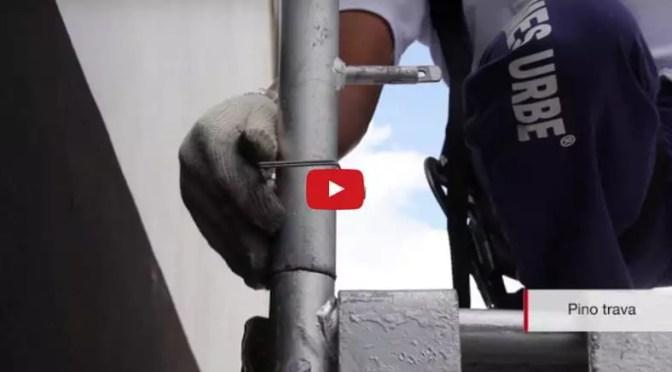 Vídeo Andaime Industrial