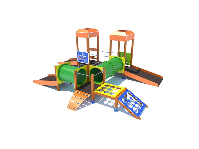 Parques infantiles y biosaludables mobiliario urbano