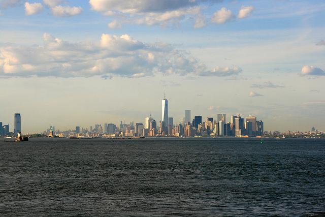 En el ferry hacia Manhattan