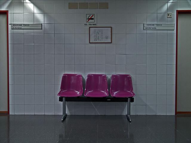 Social Security Wainting Room, by Xosé Castro
