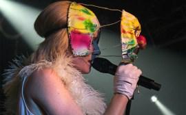 Photo of Roisin Murphy performing at Chicago's Double Door