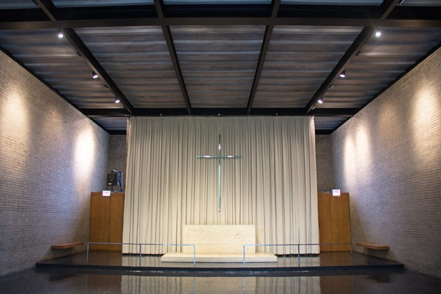 IIT's Carr Chapel at Open House Chicago 2016