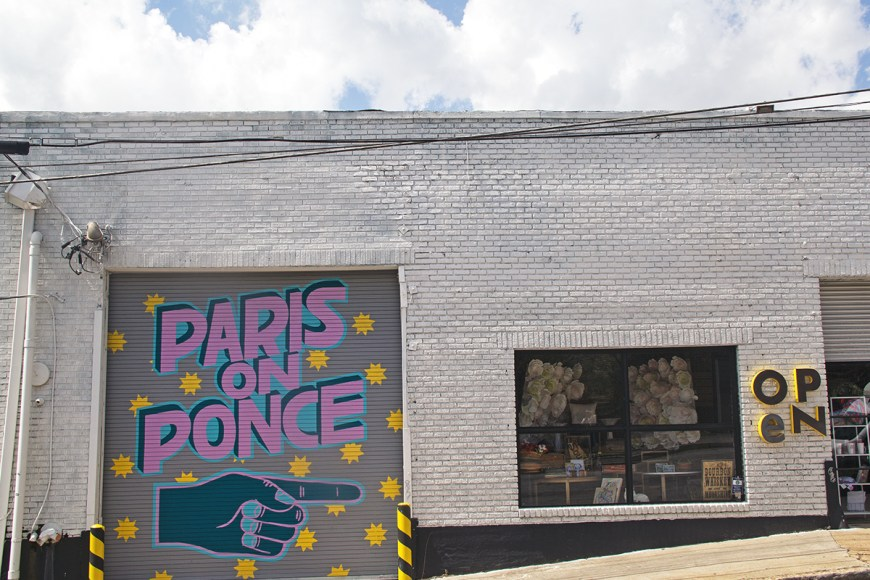 Photo of Atlanta's Paris on Ponce antique market