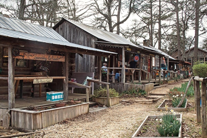 Log Cabin Village in Mentone, Alabama