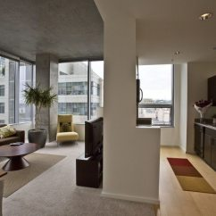 Media Center Living Room Dark Gray Couch Photos: A Look Inside Of Aspira Seattle Apartment Homes ...