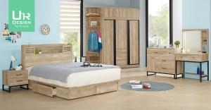 [JX] 2021寢室家具 :床架 衣櫃