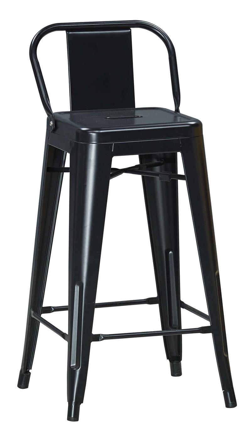 黑色高吧檯鐵椅
