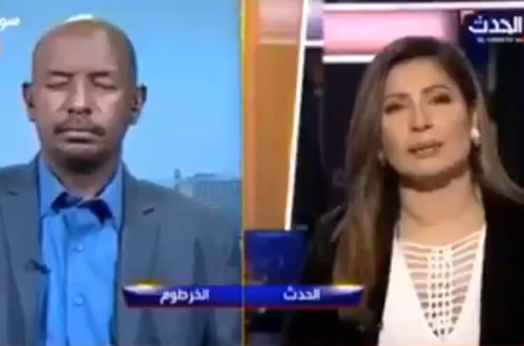 Analyst Sleeping during Live Transmission