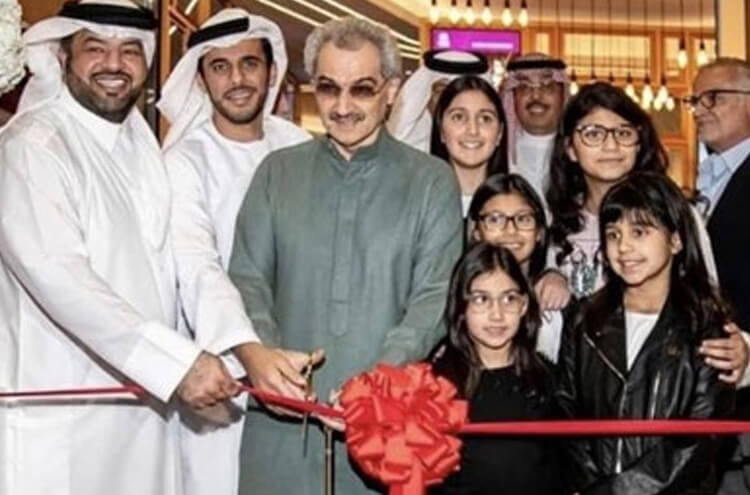 New Cinema Opened In Kindom Tower KSA