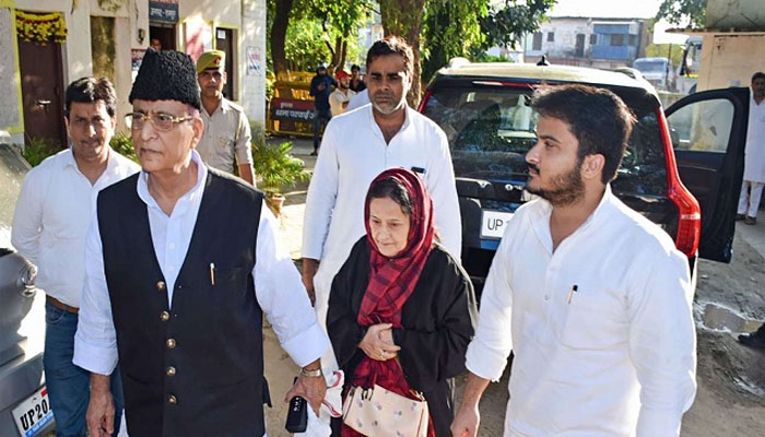 SP heavyweight Azam khan sent to jail in forgery case along with wife and son