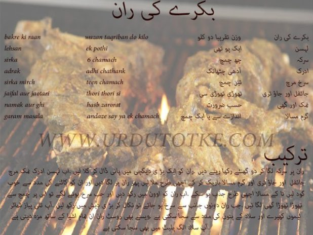 mutton recipes in urdu