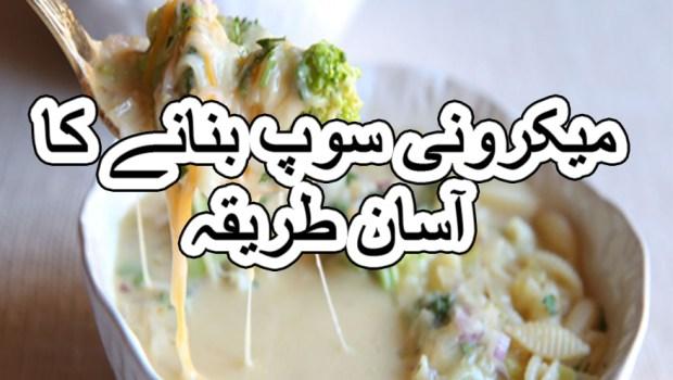 chicken macaroni soup chinese