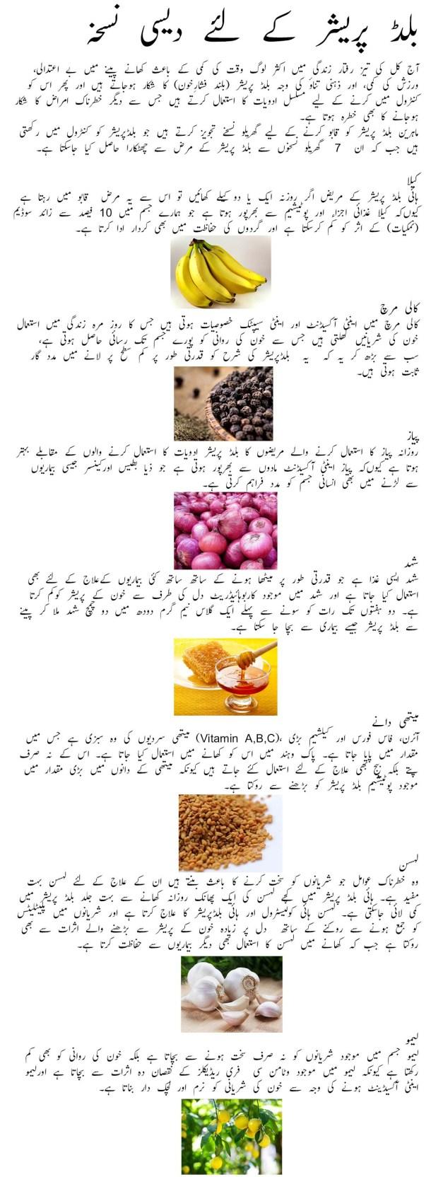 high blood pressure ka gharelu ilaj