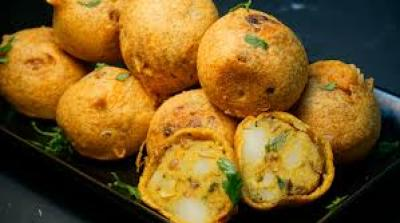 Easy and Tasty Batata Vada Cooking Recipe in Urdu