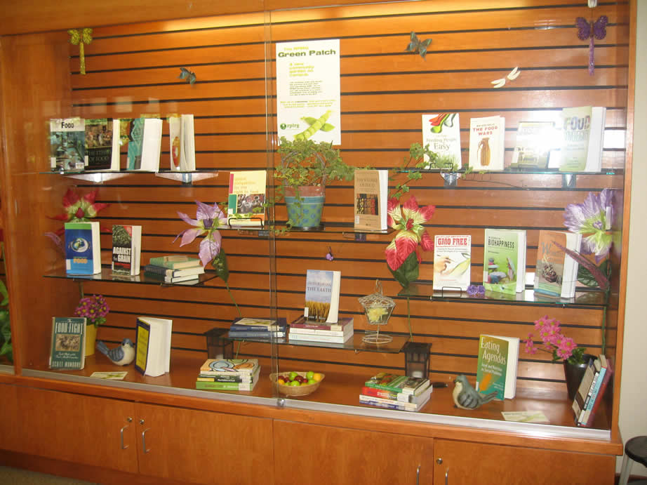 Summer 2012 Gardening Display Library Home University