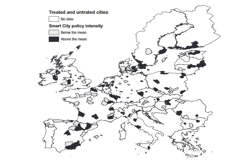 New paper on the impact of Smart City policies on urban