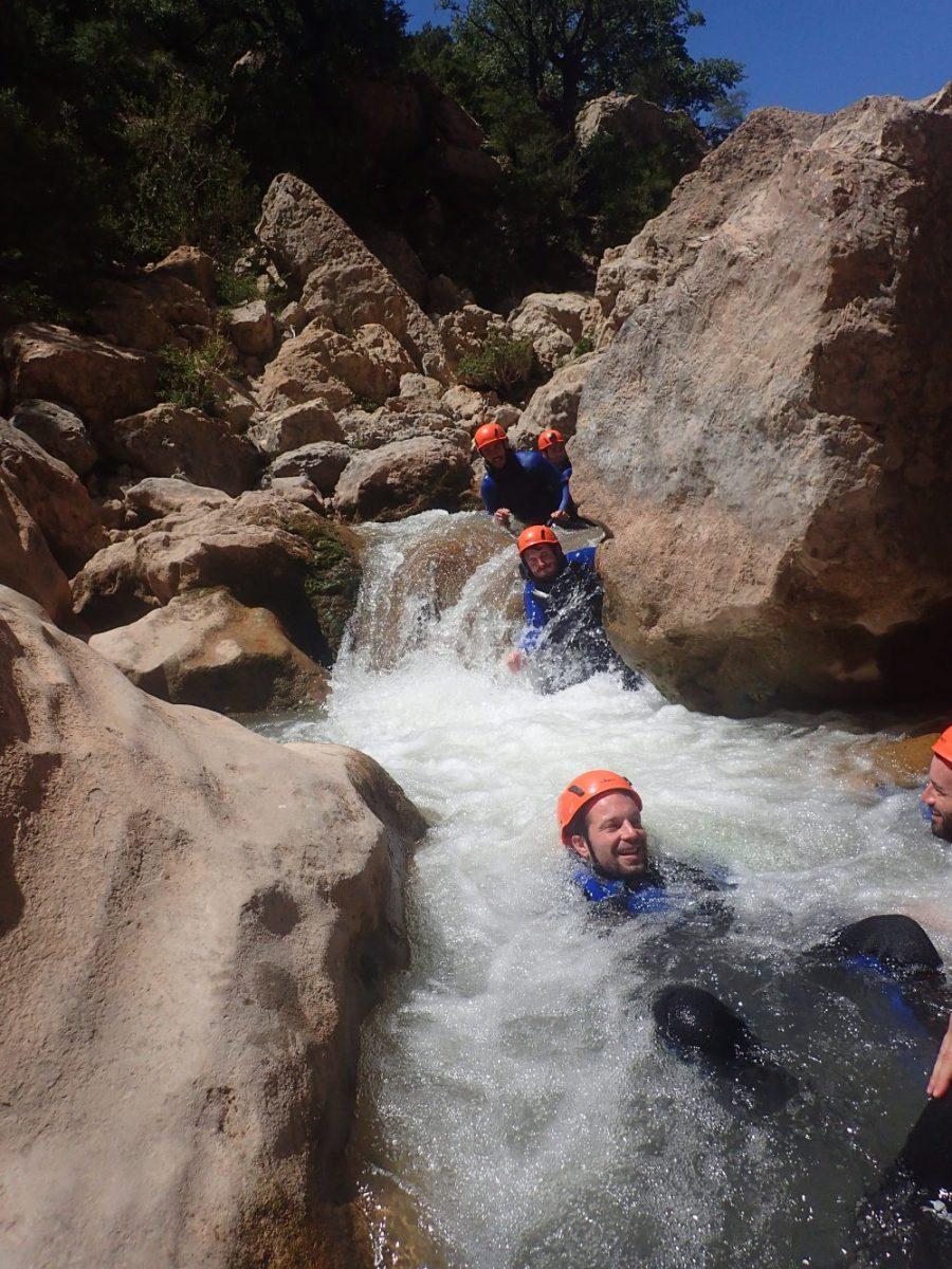 Canyon du Mascún, Sierra de Guara - Ur eta Lur, Canyoning et Randonnée