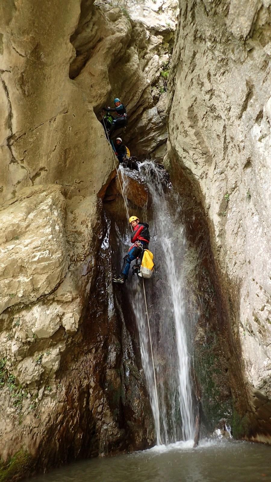 Canyon Errekaltia - Ur etaLur, Canyoning et Randonnée